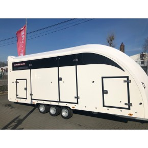 BRIAN JAMES TRAILERS -  RACE TRANSPORTER 6 550x235
