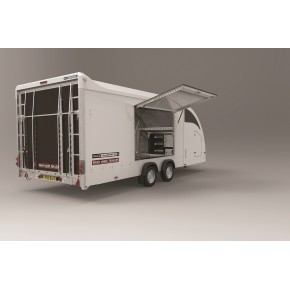BRIAN JAMES TRAILERS -  RACE TRANSPORTER 4 500x212