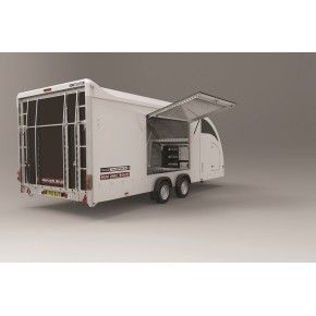 BRIAN JAMES TRAILERS RACE TRANSPORTER 4